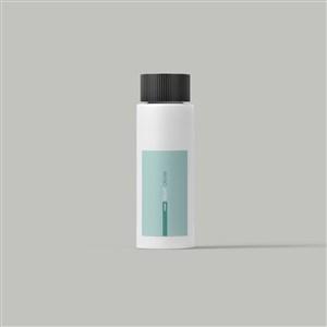 医药企业VI药瓶包装样机
