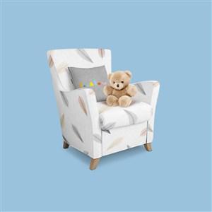 嬰幼兒品牌VI抱枕樣機