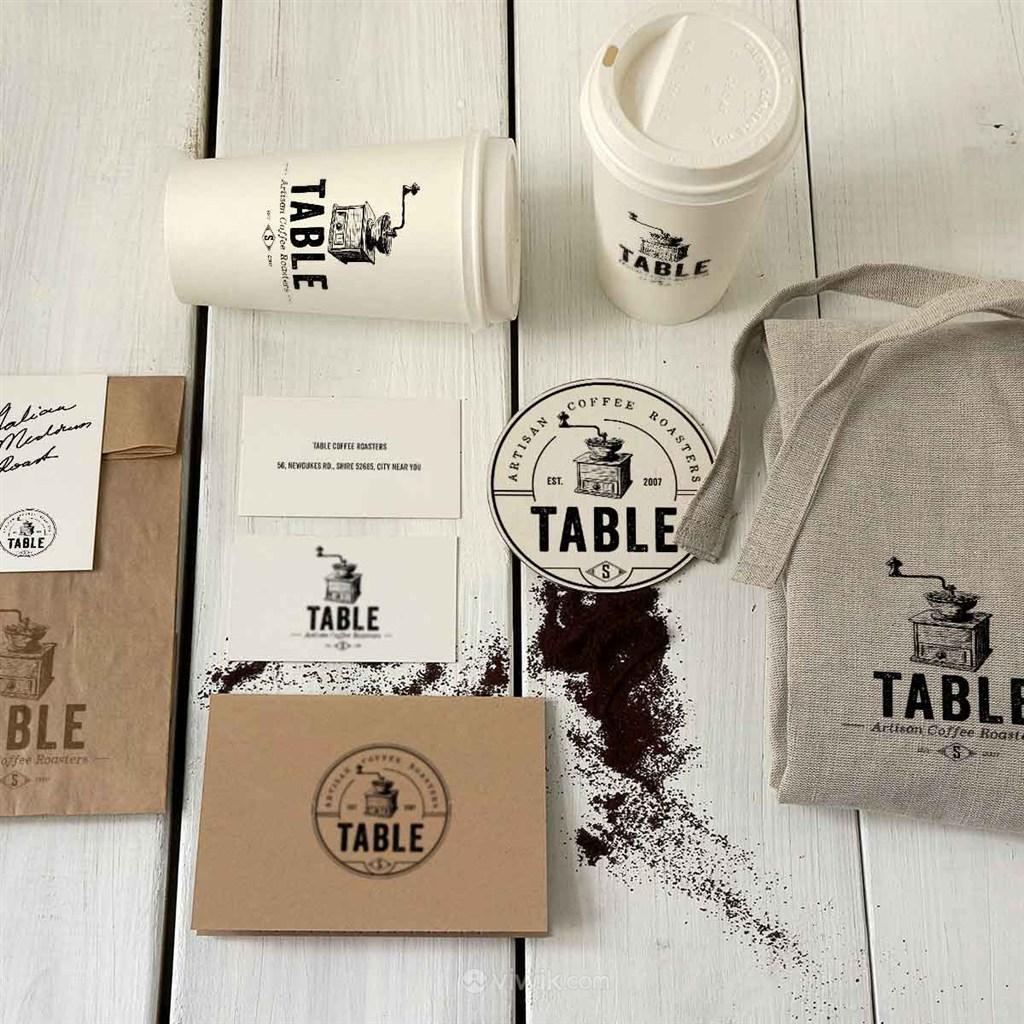 咖啡品牌包装样机