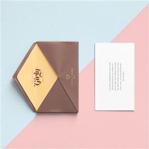 創意時尚信封設計樣機