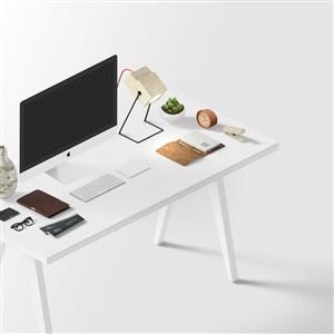 创意素雅办公桌面样机