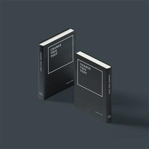 书籍封面贴图样机素材