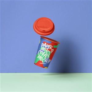 创意咖啡杯样机