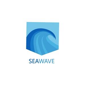 海浪矢量logo设计素材图标