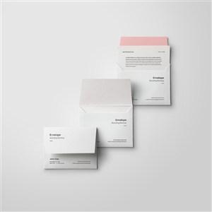 办公用品VI信封样机