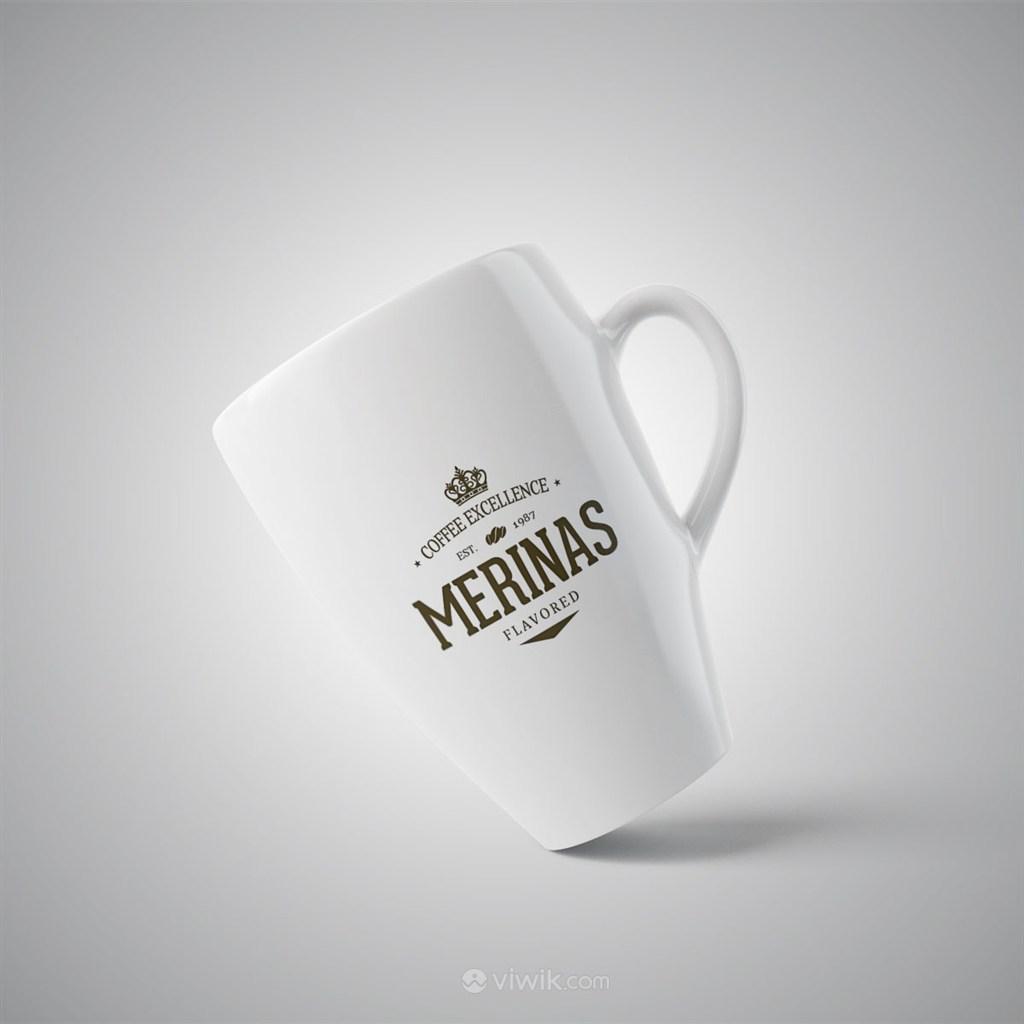 咖啡杯马克杯样机