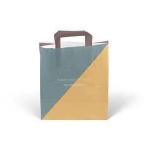 环保纸袋手提袋样机