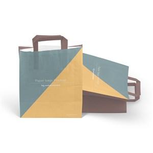 拼色手提袋紙袋貼圖樣機