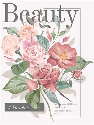 创意鲜花海报设计