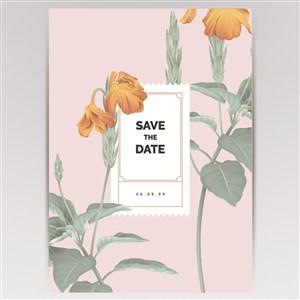唯美矢量花卉海报背景素材