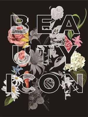 黑底创意鲜花海报