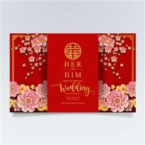 新年婚慶傳統花卉素材