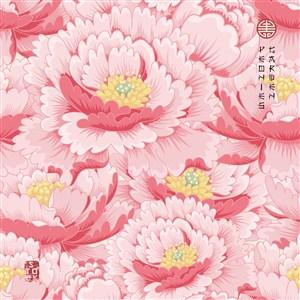古典中式矢量花卉