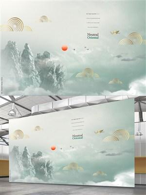 淡雅中国风海报