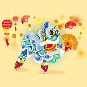 中国狮子图片
