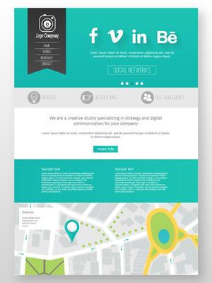 商务网站模板