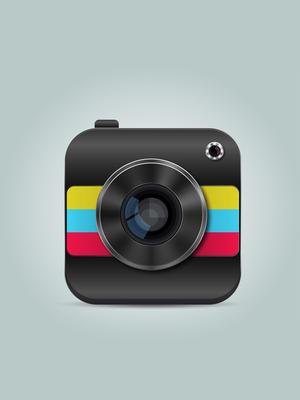 精美攝影app矢量素材