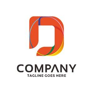 D标志设计公司logo设计素材