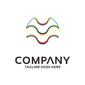 水纹标志设计logo设计素材