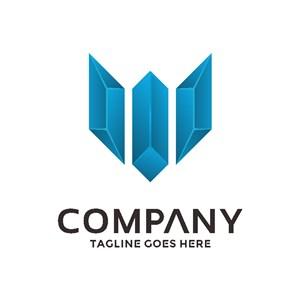 菱形标志设计logo设计素材