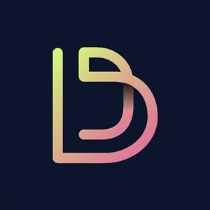 炫彩字母D标志设计logo素材