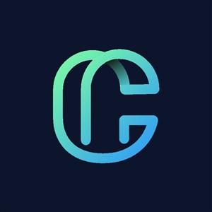 炫彩字母C标志设计logo素材