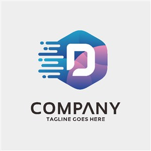 电子机械公司标志图标矢量logo设计