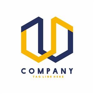 建筑公司標志矢量logo設計素材
