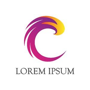 抽象圖標公司logo素材