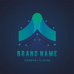 科技感标志设计logo素材