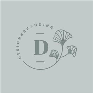化妝品牌標志設計矢量logo素材