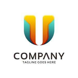 U标志图标公司logo设计素材