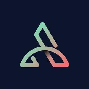 炫彩字母A标志设计logo素材