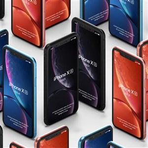 iPhone X贴图样机