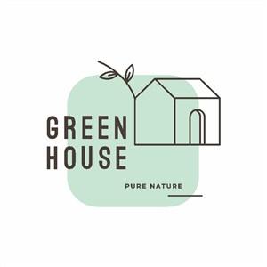 房子圖標家居地產公司logo設計