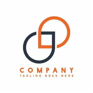 水滴圖標公司logo設計素材