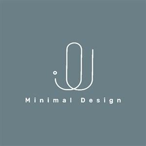 極簡矢量logo設計標志圖標