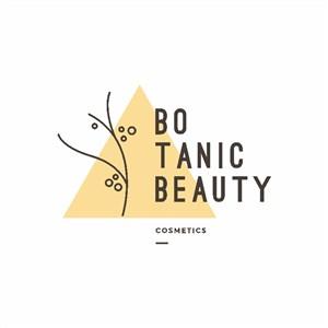植物化妝品矢量logo設計素材標志設計
