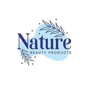自然美容產品矢量logo設計