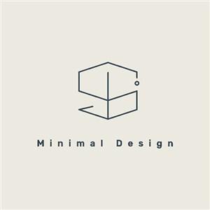 极简图标服装品牌矢量logo设计素材