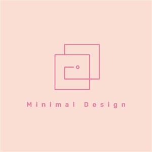简约线条logo服饰时尚矢量图标
