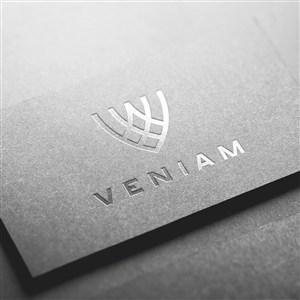 银色logo样机模板