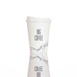 一次性咖啡杯贴图样机