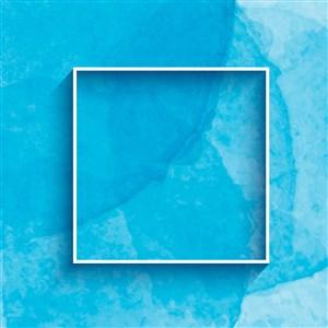 淡蓝水彩背景底纹矢量素材