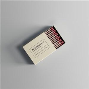 火柴盒包装样机