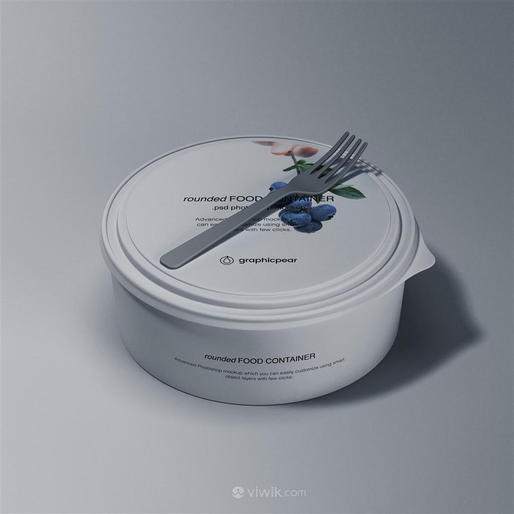 圓形密封食品包裝盒貼圖樣機