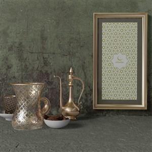穆斯林风格墙上画框样机