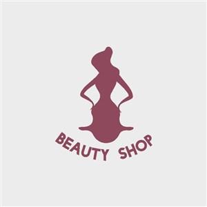 女性图标服装logo设计素材