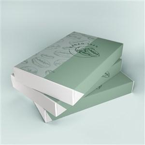 綠色巧克力外包裝貼圖樣機