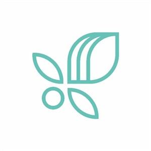 抽象简单图标公司logo设计素材